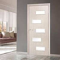 Двери межкомнатные Этюд со стеклом сосна карелия