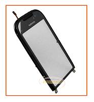 Сенсорный (тачскрин) Nokia C7 с рамкой Black Original