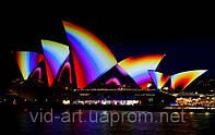 Архитектурная подсветка зданий и сооружений, светодиодная подсветка