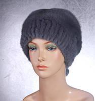 Женская меховая шапка Анжелика из норки
