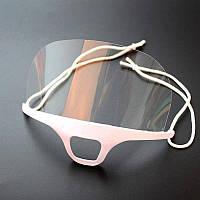 Защитная маска для лица пластиковая MZP YRE