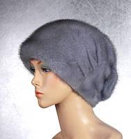 Женская меховая шапка Стелла из норки