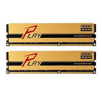 МОДУЛЬ ПАМЯТИ ДЛЯ КОМПЬЮТЕРА DDR3 8GB (2X4GB) 1600 MHZ PLAY GOLD GOODRAM (GYG1600D364L9S/8GDC)