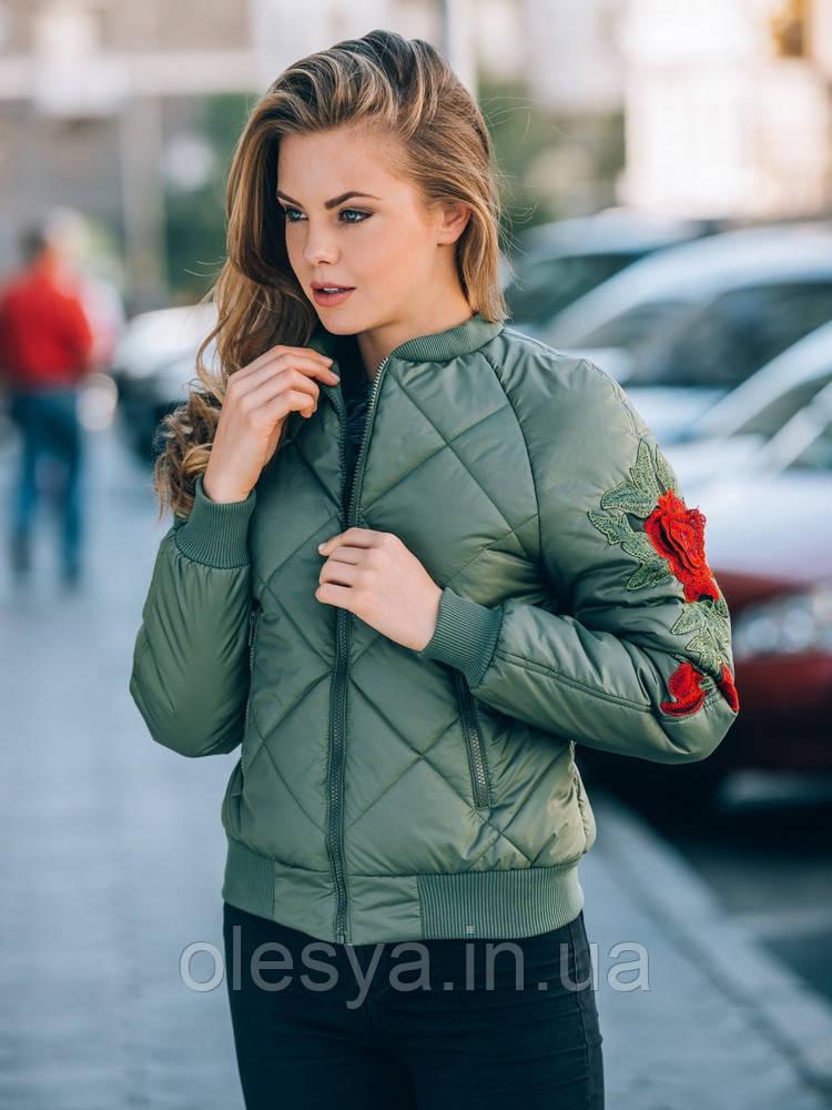 Куртка Бомбер женская №37 (5 цветов) 42