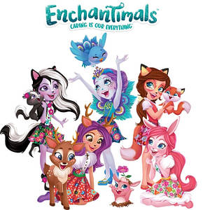Ляльки Энчантималс Enchantimals