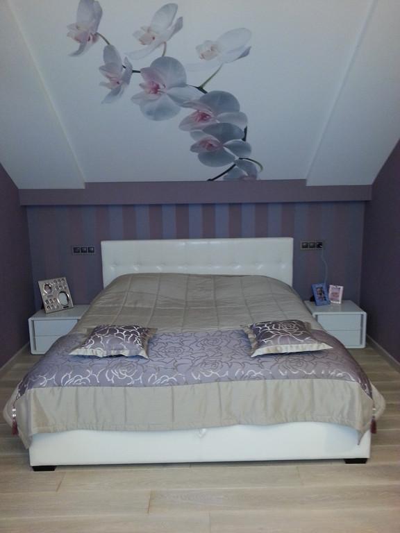 Покрывало с кантом и подушки в спальню. Глеваха