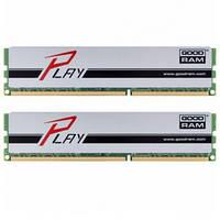 МОДУЛЬ ПАМЯТИ ДЛЯ КОМПЬЮТЕРА DDR3 8GB (2X4GB) 1600 MHZ PLAY SILVER GOODRAM (GYS1600D364L9S/8GDC)