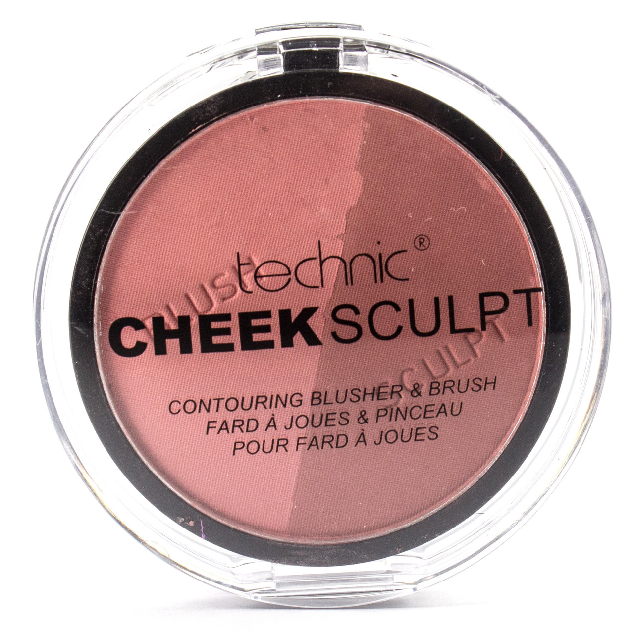 Контуринг и румяна Technic Cheek Sculpt Contouring Duo Blusher & Brush