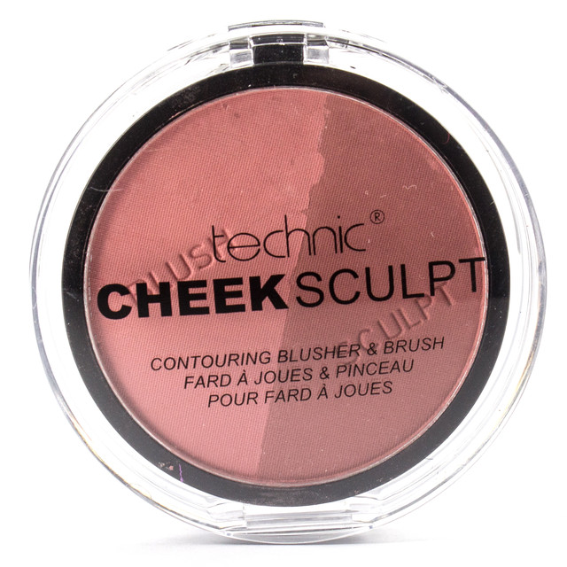 Контурирующие румяна Technic Cheek Sculpt Contouring Duo Blusher & Brush