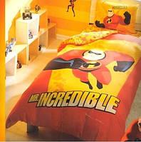 Постельное белье Tac Disney The Inredibles полуторного размера