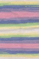 Детская пряжа Alize Baby Wool Batik №4004для ручного вязания