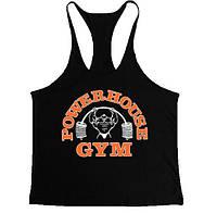 Спортивная майка Powerhouse Gym, черная