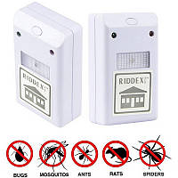 Электромагнитный отпугиватель грызунов и насекомых Ридекс Плюс  (RIDDEX Plus)