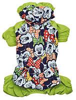 Дождевик для собак Pet Fashion ЛИЛУ M, Длина спины 33-36, обхват груди 41-48 см (цвета разные)