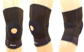 Наколенник (фиксатор коленного сустава) с открытой колен. чашечкой (1шт) ASIC BC-610 (р-р M, L)