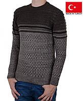 Вязанный яркий свитер на мальчика-подростка.РазмерS-M.