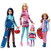 "Набор кукол Барби и ее сестры серии ""Барби и ее сестры"" / Barbie Pink Passport Dolls & Accessories"