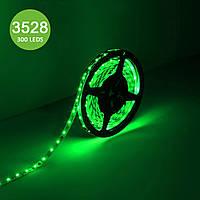 Герметичная зеленая лента GTV LED 3528 600 LED 48Вт IP65, катушка 5м