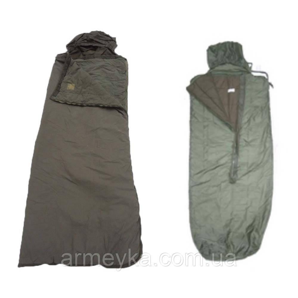 Спальный мешок демисезон (t -5;-10°C) с влагостойким дном. ВС Франции, оригинал. Сорт 1