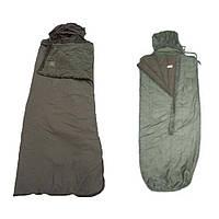 Спальный мешок демисезон (t -5;-10°C) с влагостойким дном. ВС Франции, оригинал. Сорт 1, фото 1