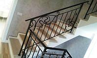 Облицовка бетонной 3х этажной лестницы деревом