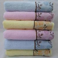 Красивые махровые  полотенца для кухни 0,35 x 0,75