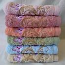 Банное  качественное  махровое полотенце с вышитыми бабочками  Размер 140*70., фото 2
