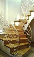 Обшивка ступеней бетонной винтовой лестницы