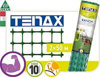 Сетка для забора Tenax RANCH 1 2х50м (ячейка 27х42), фото 1