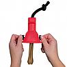 Держатель для жевательной косточки, резина, 8 х 10см, фото 2