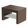 Стол для зоны ожидания Kubik, ламинированный Panda
