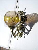 Бра Настенный светильник (1 лампа, бронза)