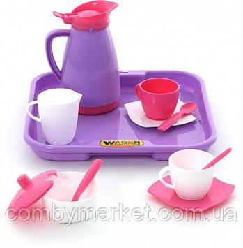 Набір дитячого посуду Аліса на 2 персони