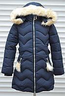 Зимнее пальто для девочек,Размер 4-12,Фирма CHILDHOOD,Венгрия