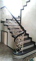 Обшивка лестницы фанерой и деревом