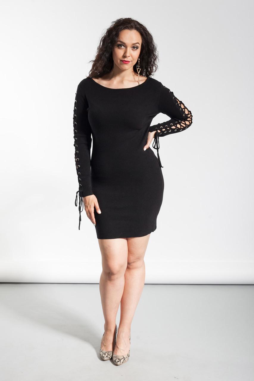 Платье женское Glo-Story Plus-size