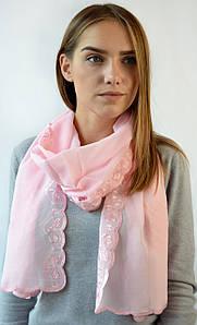 Шарф Жасмин розовый (С934)