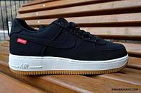 Кроссовки мужские в стиле Nike Air Force 1 Low Black white