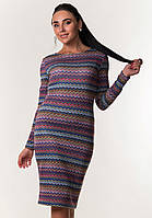 Платье футляр с ангоры ZANNA BREND M,L (46,48)цветной, фото 1