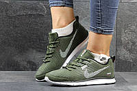 Женские кроссовки Nike Zigmaze зеленые 3012