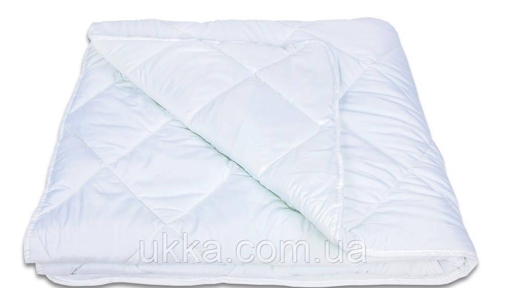 Полуторное демисезонное одеяло с холлофайбером 150х210см White collection Теп