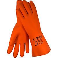 Перчатки NITRAS латексные К80, Щ50 антикислотные