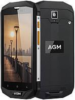 "Смартфон AGM A8 4/64Gb, черный, 4 ядра, 13/2 Мп, 5"" IPS, 4G, 4050 мАч"
