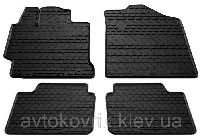 Резиновые коврики в салон Toyota Camry XV50 2011- (STINGRAY)