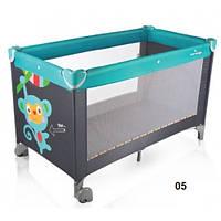 Детский кровать- манеж ( Baby Design) Simple
