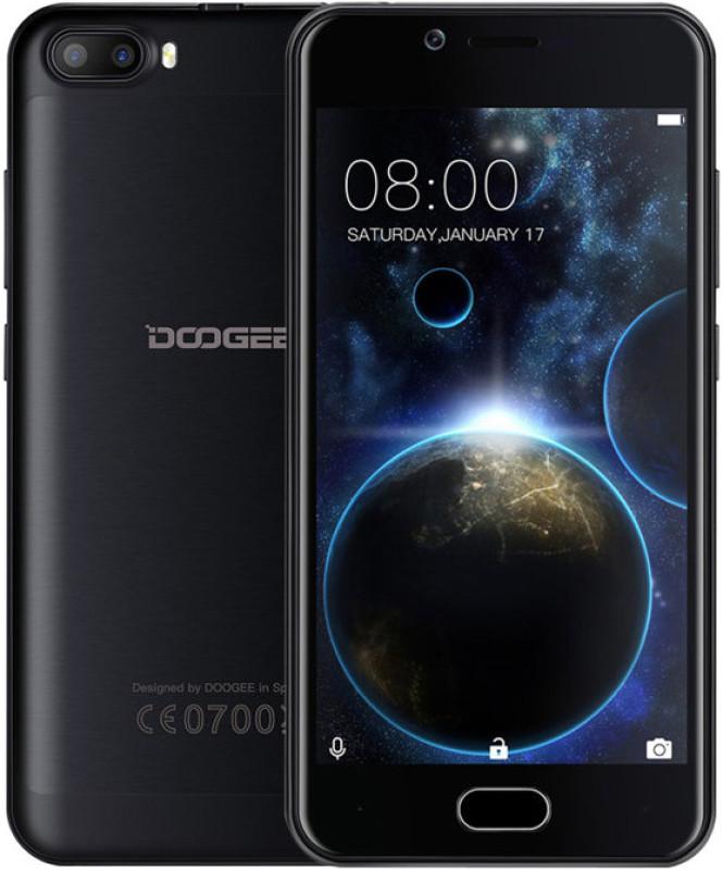 "Смартфон Doogee Shoot 2 1/8Gb черный, 4 ядра, 5+5/5Мп, 5"" IPS, 3360 мАч, фото 1"