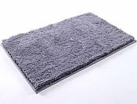 Коврик для ванной прорезиненный 60х100 Irya - Floor серый