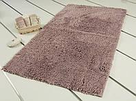 Коврик для ванной прорезиненный 60х100 Irya - Floor темно-розовый