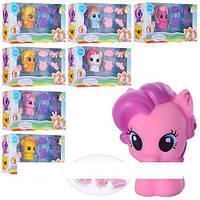 Брызгалка My Little Pony, для купания, лошадка, аксессуары, 6 видов, в кор-ке SM2003A1