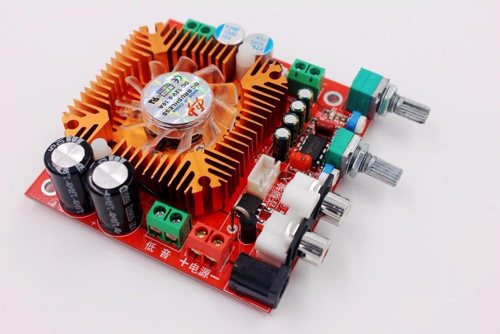 Усилитель TDA7379 2.1 - 2x13 Вт + 38 Вт сабвуфер